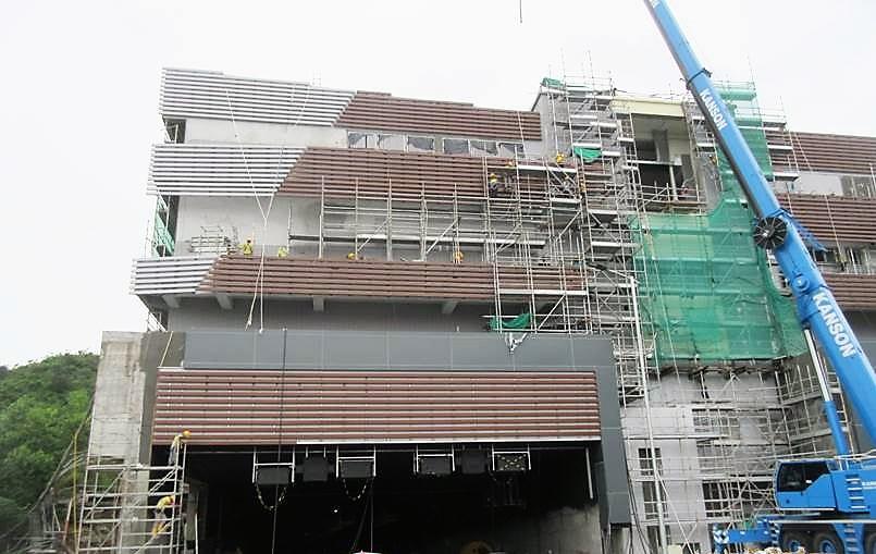 SHT Ventilation Building