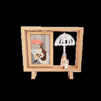 Portarretrato Paraguas De Luz