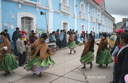 tanssi Punonkadulla Perussa