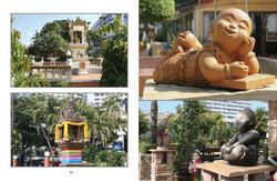 Pattaya alttareita ja patsaita