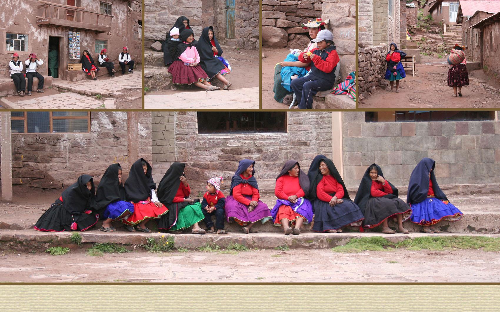 Titicaca järvi Taquile