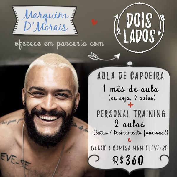 AMIGO APOIADOR - MARQUIM D'MORAIS
