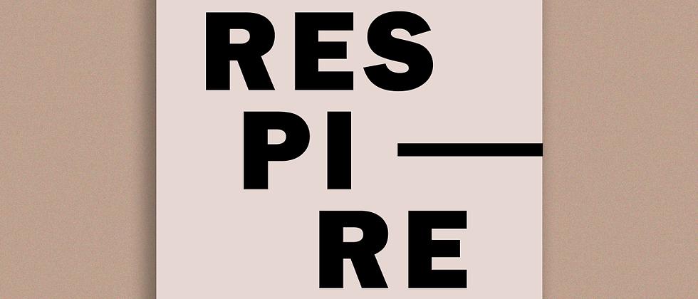 "QUADRO ""RESPIRE"""