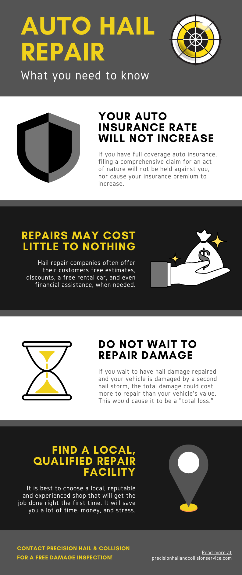 What You Need To Know About Auto Hail Repair
