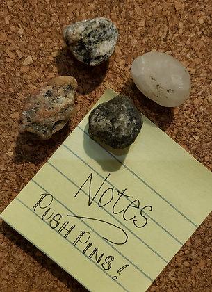 Stone Push Pins