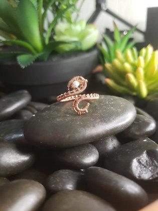 Adjustable Swarovski Ring