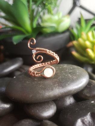 Adjustable Jade Ring