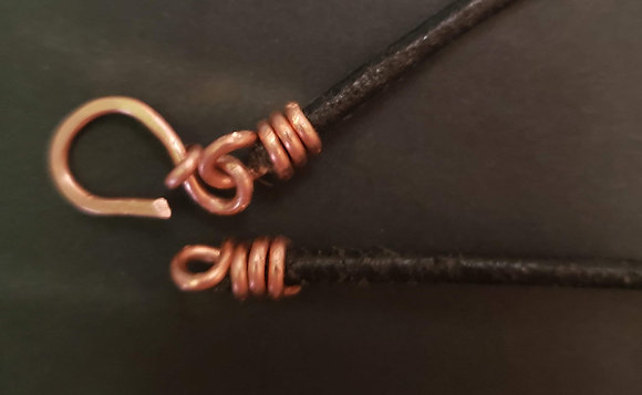 Leather Necklace Cord with Clasp (Add On)
