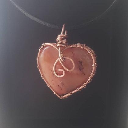 Carnelian Love Necklace