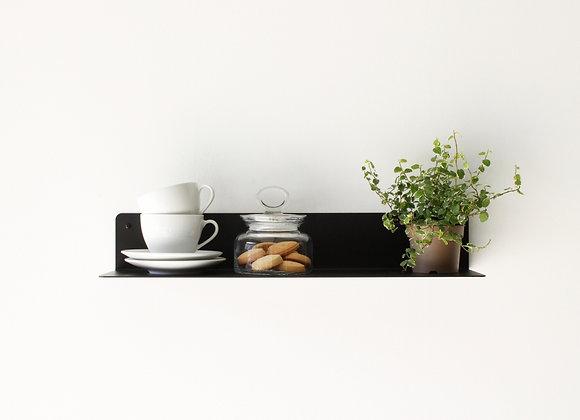Open Shelf 55- צבע שחור