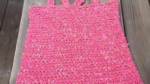 Crochet Star Stitch Tank Top