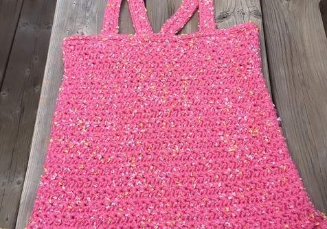 Crochet Star Stitch Tank Top