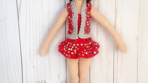 Crochet Dancing Doll