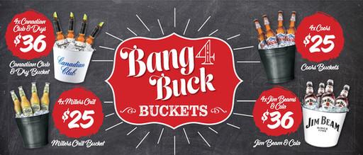 Bang for Buck Buckets