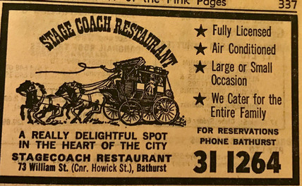 Stage Coach Ad