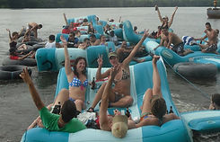 BF's Lazy River Raft Race