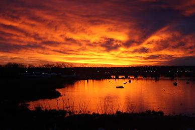 Dawn on the Long Island Sound