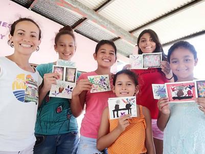 Watercolor workshop with founder Melissa Ramirez