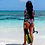 Thumbnail: Sustainable Ocean Rider design long sleeve body suit cheeky bottom cut
