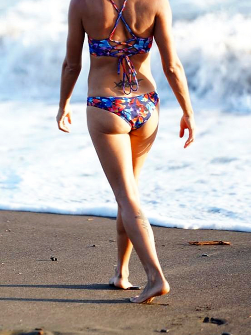 Sustainable Chica Bonita Petalicious reversible cheeky bottom