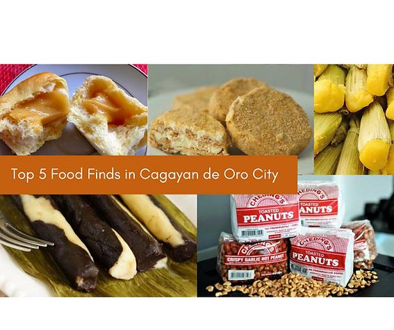 Top 5 Food Finds in Cagayan de Oro City.