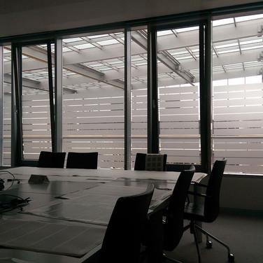 Sichtschutz Besprechnungsraum (Düsseldorf)