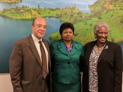 PAC meeting at the Rwandan Embassy