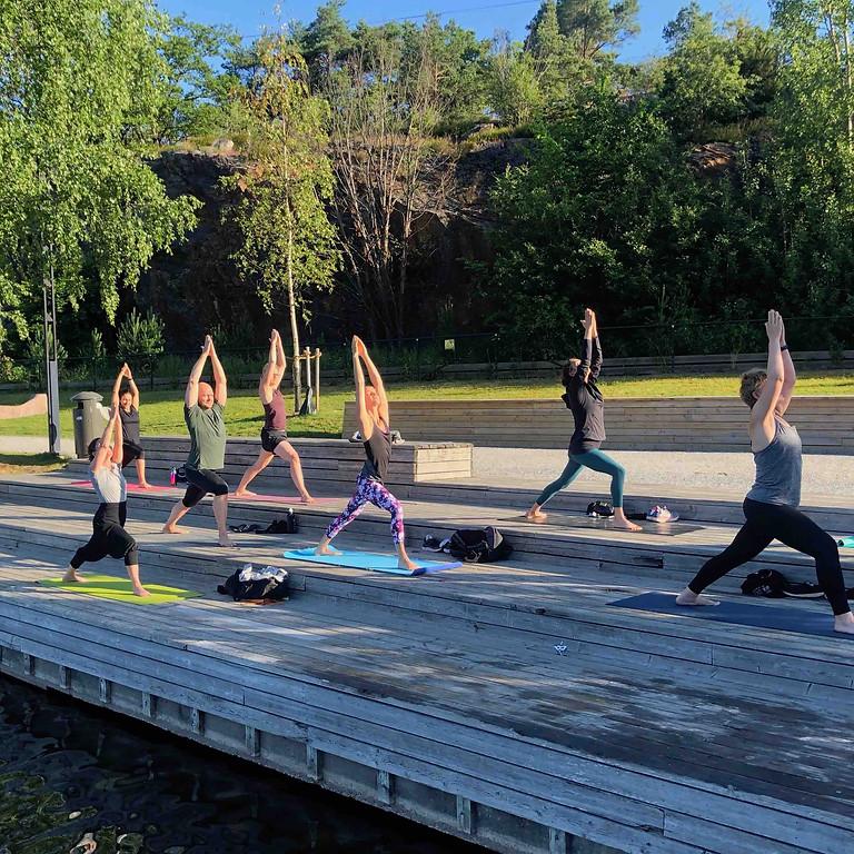 Vinterviken-Yoga på bryggan 2022