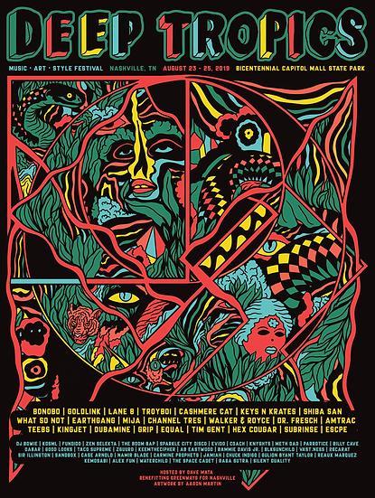 2019 Festival Print