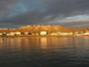 Pond Inlet a mezzanotte
