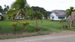 Vanua Levu Savusavu un villaggio all'interno
