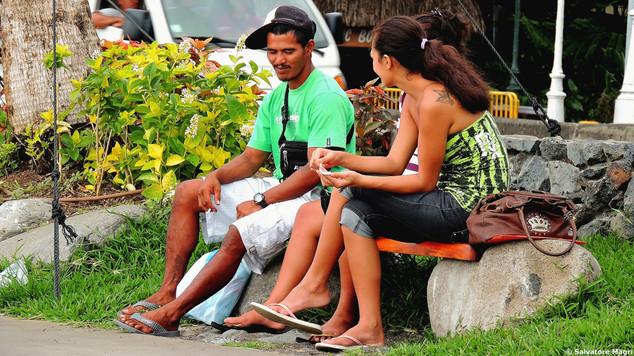 Tahiti, Papeete, lungomare