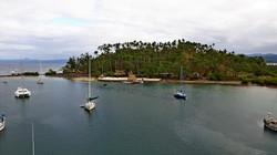 Fiji Vanua Levu Savusavu davanti a Copra Shed Marina
