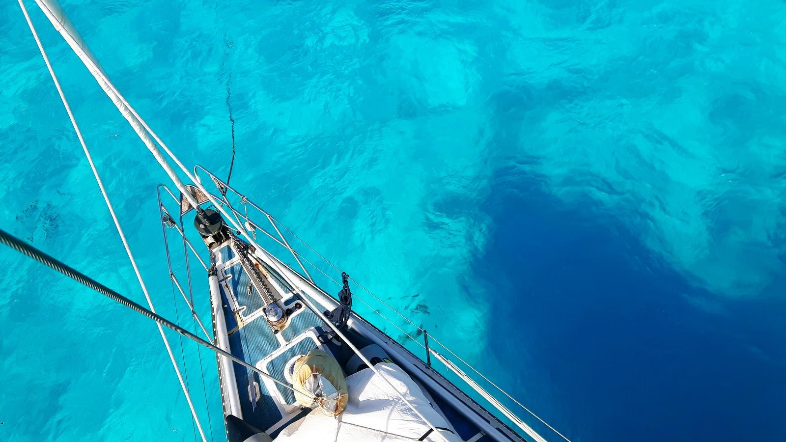 Beveridge Reef i colori della laguna