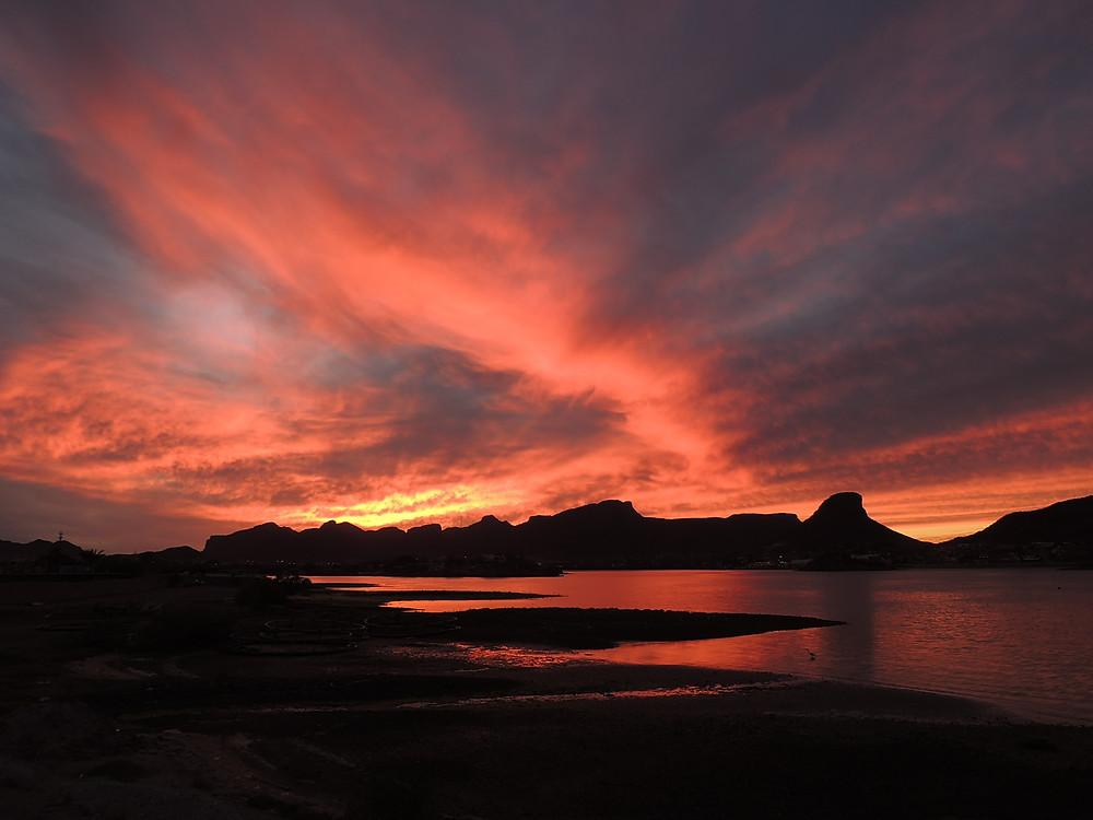 Tramonto a Guaymas