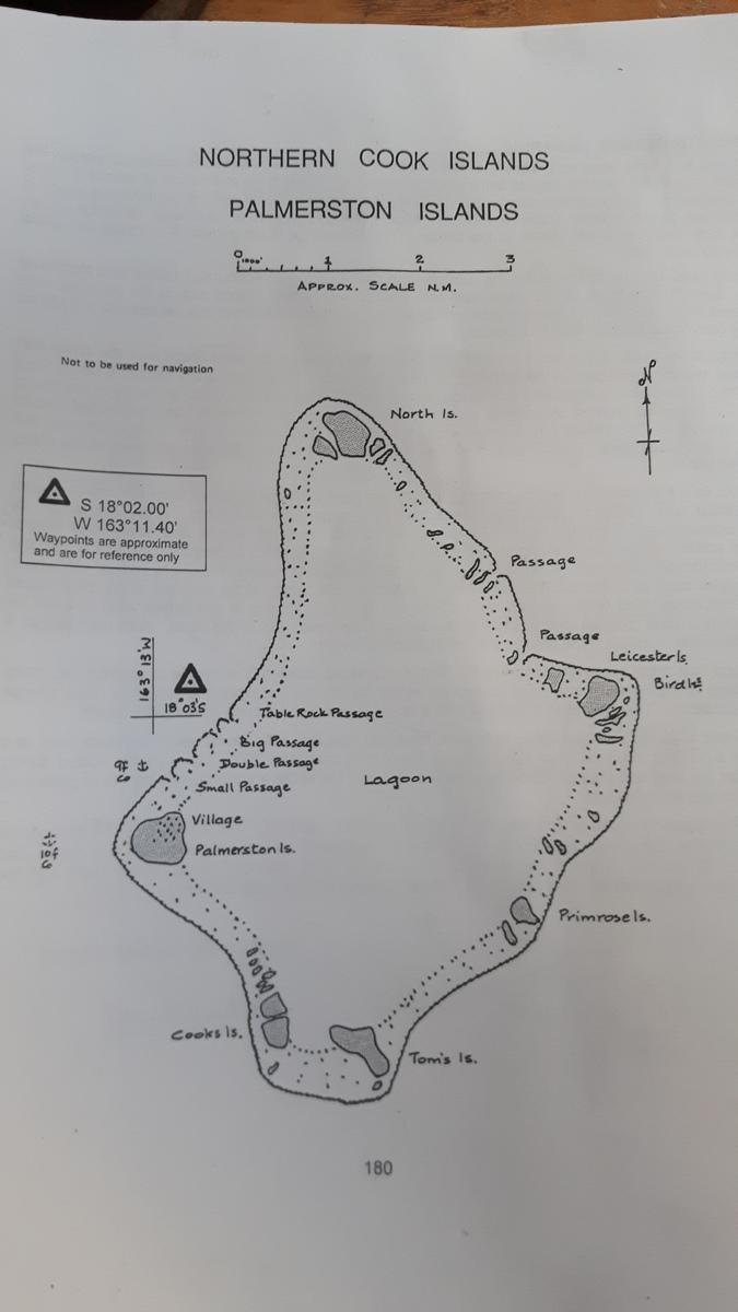 Palmerston la mappa