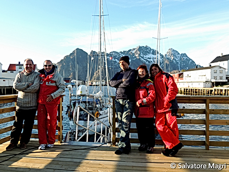 L'equipaggio a Henningsvaer