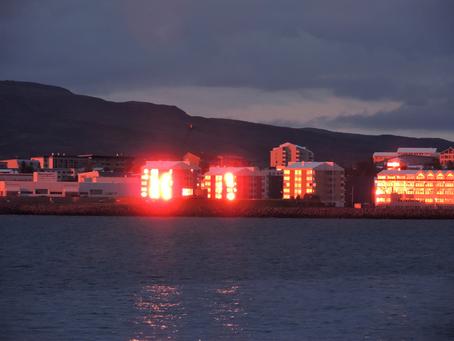 Lasciando Reykjavik