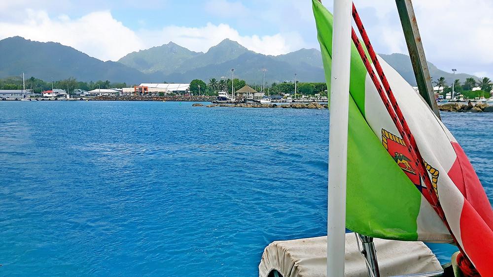 Partenza da Rarotonga