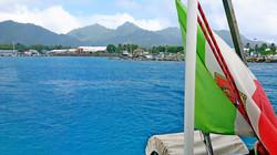 Rarotonga partenza