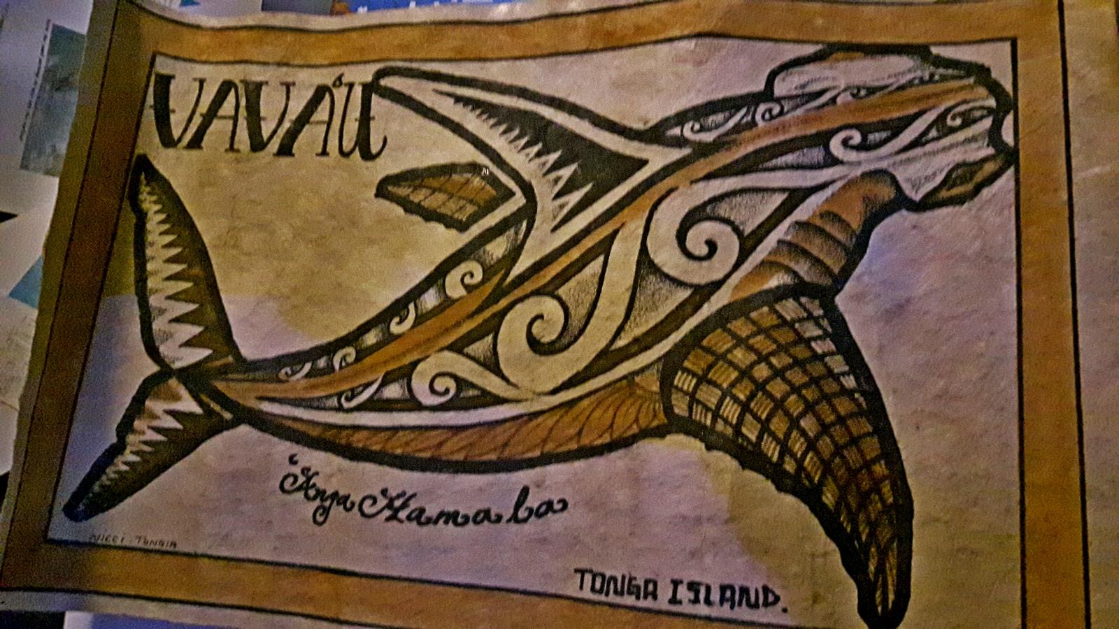 Tonga Vava'u questo ce lo teniamo in barca per ricordo