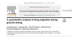 Quantitative analysis of drug mig.