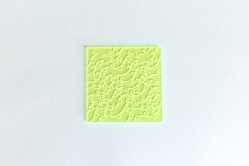 Quebra Cabeça Transparente 28 peças (Ondas)