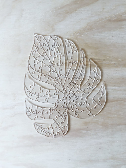 Quebra Cabeça Transparente 116 peças - Costela de Adão