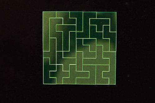 Quebra Cabeça Transparente 23 peças (Labirinto)