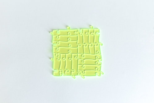 Quebra Cabeça Transparente 16 peças (Linhas)