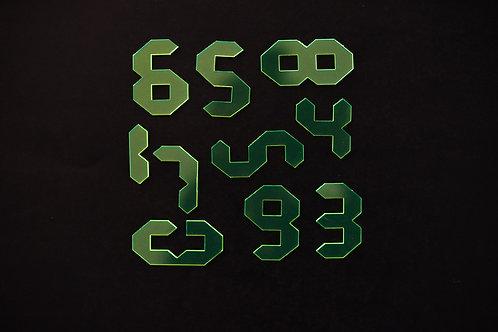 Quebra Cabeça Transparente 10 peças (Números)