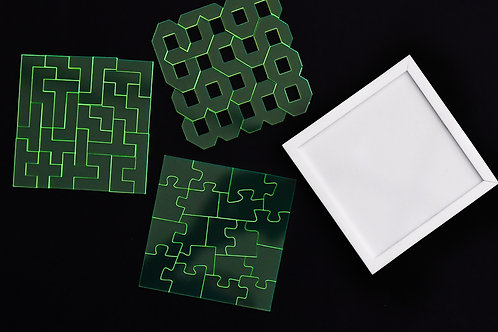 Puzzle de acrílico