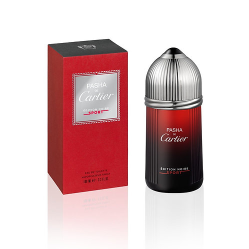 Cartier Pasha Black Sport Eau de Toilette 100 Ml