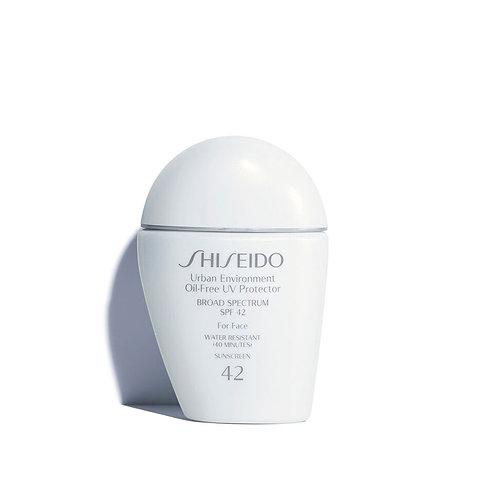 Protector solar facial Shiseido Urban Oil Free SPF 42